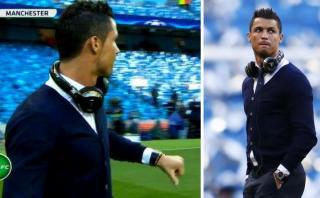 Cristiano Ronaldo no jugó ante el City ¿Qué le pasó? [VIDEO]