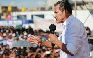 """Humala: """"Menos trago y más trabajo, eso tenemos que hacer"""""""