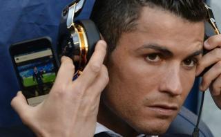 Cristiano Ronaldo: ¿Qué estaba mirando en su celular?