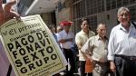 Fonavi: gran expectativa por devolución de aportes [FOTOS] - Noticias de devolucion