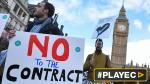 Huelga de médicos deja sin servicios de emergencia a Inglaterra - Noticias de huelga de médicos