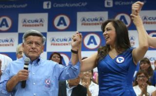 Marisol Espinoza fue reelecta en Piura con el partido de Acuña