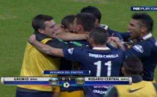Rosario Central ganó 1-0 a Gremio por Copa Libertadores