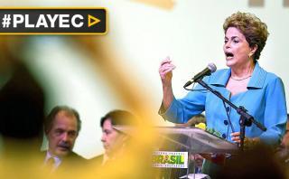 """Dilma Rousseff: """"No les dejaremos el camino fácil al poder"""""""