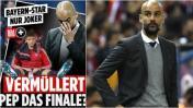 Pep Guardiola criticado en Alemania por suplencia de Müller
