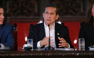 """Humala: """"El Perú convierte a la gastronomía en una fortaleza"""""""