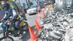 San Isidro: alcalde responde a críticas de vecinos por obras - Noticias de san borja