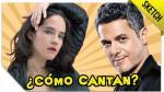 Aprende a cantar como Alejandro Sanz o Alex Lora [VIDEO] - Noticias de carla morrison