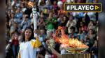 Río 2016: Brasil recibió la antorcha olímpica en Atenas [VIDEO] - Noticias de actores brasileños