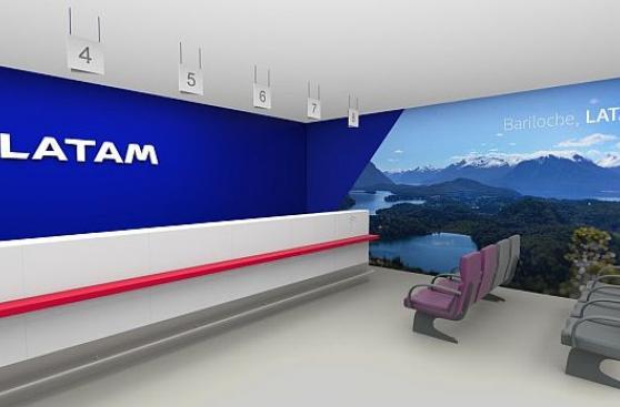 Latam, unión de Lan y Tam, presenta nuevo diseño de sus aviones