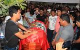 Piura: emotiva despedida a soldado que falleció en el Vraem