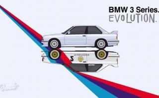 Mira los 40 años del BMW Serie 3 en minuto y medio [VIDEO]