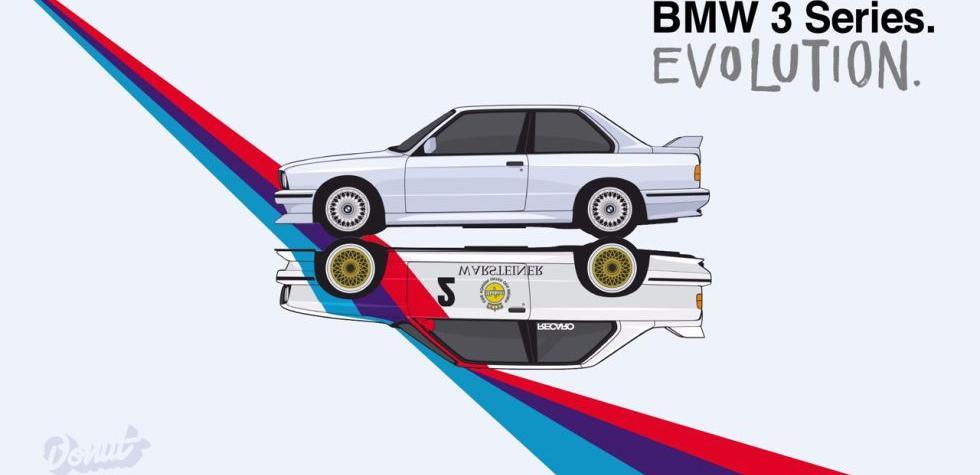 Los 40 años del BMW Serie 3 en minuto y medio [VIDEO]