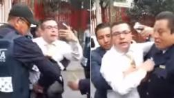 "Choca ebrio, graba, se enoja y surge ""Lord Godinez"" [VIDEO]"