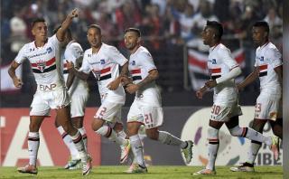 Sao Paulo goleó 4-0 a Toluca por la Copa Libertadores [VIDEOS]