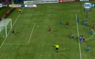 Mira el penal que desató molestia del arquero de Boca Juniors