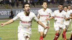 La 'U' venció 2-0 a San Martín y se consolida como líder