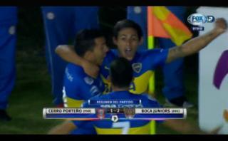 Boca Juniors venció 2-1 a Cerro Porteño por Copa Libertadores