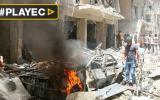 Siria: más de 50 muertos tras bombardeos en Alepo [VIDEO]