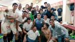 La 'U' celebró triunfo en vestuario y lo compartió en Facebook - Noticias de amauri gutierrez