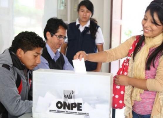 ONPE: miembros de mesa serán los mismos para la segunda vuelta