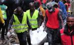 Kenia: Se elevan a diez los muertos por derrumbe de edificio