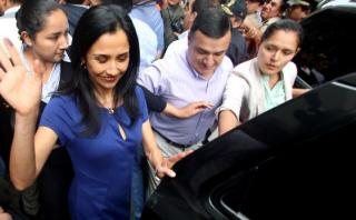 Fiscal presenta informe sobre Nadine Heredia la próxima semana
