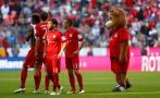 Bayern empató ante el Mönchengladbach y postergó celebración