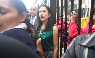 Nadine Heredia acusó a Keiko de promover la minería ilegal