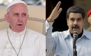 Preocupado por Venezuela, el Papa le envió una carta a Maduro
