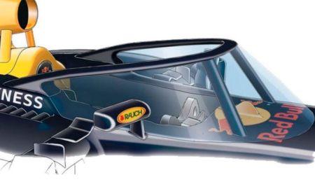 El monoplaza con cúpula fue probado por Daniel Ricciardo. (Fotos: Difusión)