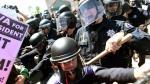 Violencia se desata en protesta contra Donald Trump [FOTOS] - Noticias de violador