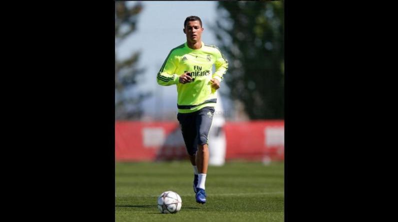 Cristiano Ronaldo retornó a los entrenamientos del Real Madrid (Foto: Real Madrid)