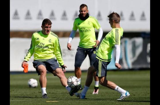 Cristiano Ronaldo regresó a los entrenamientos del Real Madrid