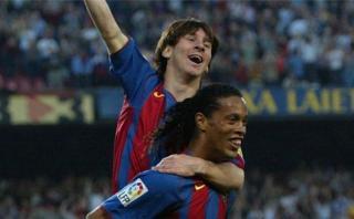 Lionel Messi: un día como hoy marcó su primer gol con Barcelona