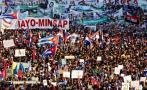 Día del Trabajador: Cubanos llenan calles en apoyo al gobierno