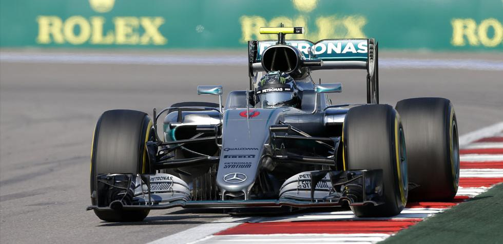 Fórmula 1: Nico Rosberg ganó el GP de Rusia