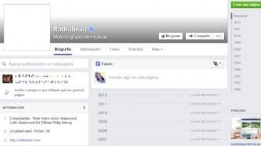 """¿Por qué Radiohead """"borró"""" toda su información de Facebook?"""