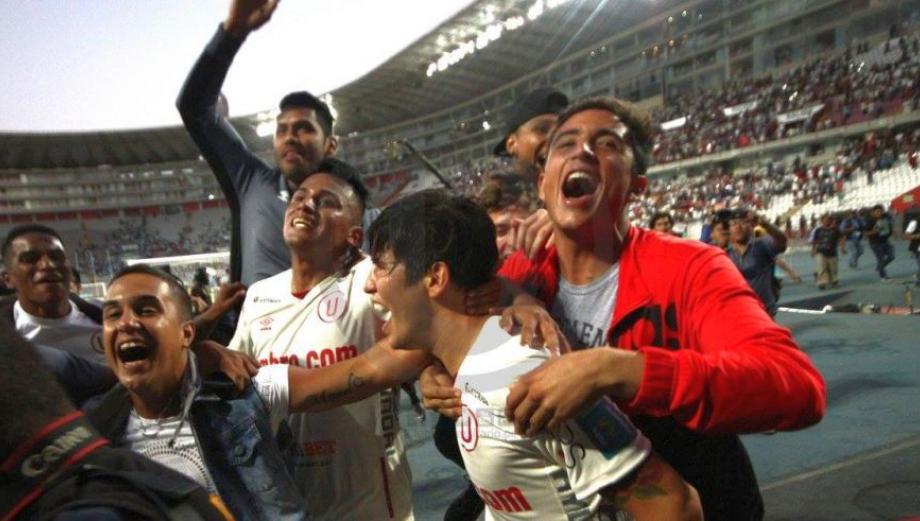 Universitario: la fiesta en el Nacional tras ganar el Apertura