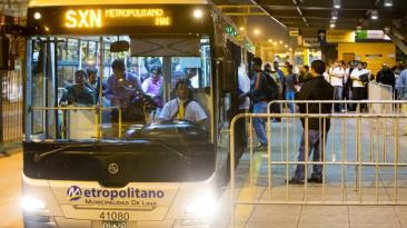 Metropolitano: servicio súper expreso norte empezó a funcionar