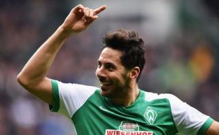 Claudio Pizarro anotó en la goleada del Werder Bremen [VIDEO]