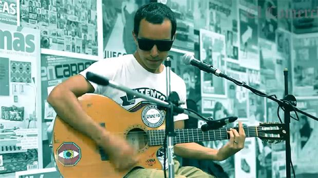 Laguna Pai en una sesión acústica desde