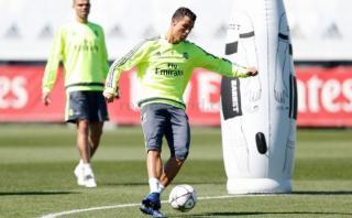 Cristiano Ronaldo entrenó con normalidad y jugaría ante el City