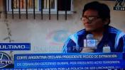 Extradición de peruano miembro de SL: Argentina aprobó pedido