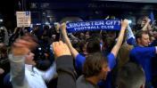 Así celebraron los hinchas del Leicester, campeón de Inglaterra