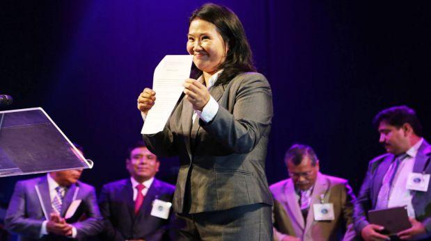 Keiko Fujimori: todo lo que dijo sobre la unión civil