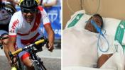 Ciclista peruano Israel Hilario sufre grave accidente en España