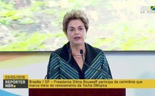 Rousseff promete éxito de Juegos pese a crisis en Brasil