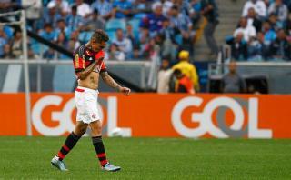 Paolo Guerrero criticado en Brasil por su bajo índice goleador