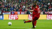 Bayern Múnich igualó serie ante Atlético con gol de Xabi Alonso